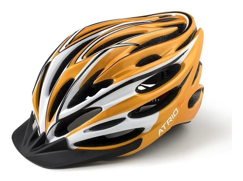 capacete ciclista adulto regulagem bike bi123 atrio led