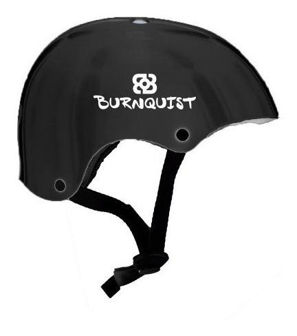 capacete coquinho bob burnquist preto para bike bmx  skate g