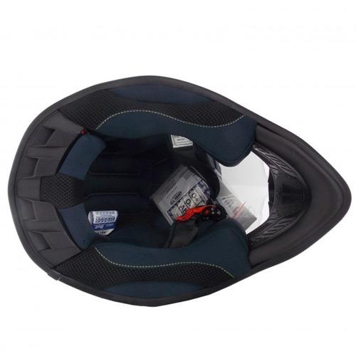 capacete cross mx bull orange n 58