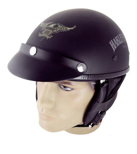 capacete custom classic harley davidson iron 883 ccc019
