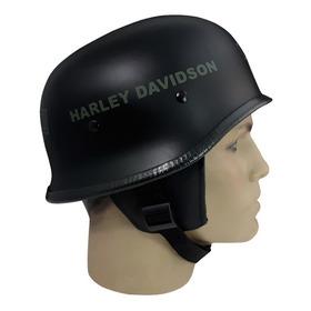 Capacete Custom M34 - Preto Hd Out & Bar&shield Vd - M34c058