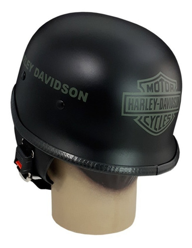 capacete custom m34 - preto hd out & bar&shield vd - m34c058