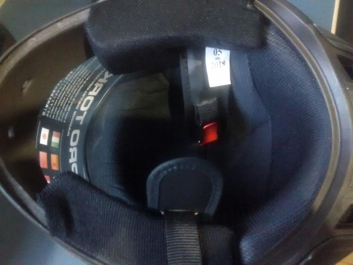 6f8c145aaa746 capacete de moto viseira cromada fechado barato r8 pro tork. Carregando  zoom.