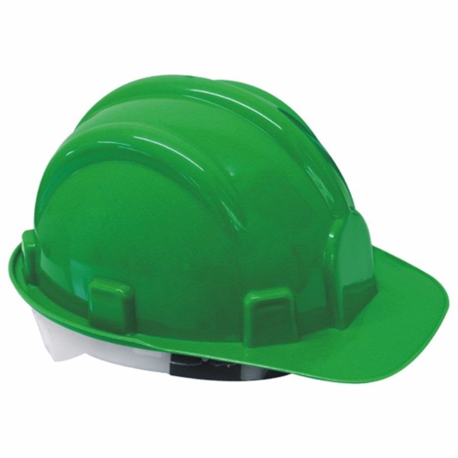 Capacete De Proteção Epi Verde C carneira - Worker - R  10,99 em Mercado  Livre 5a1888b062