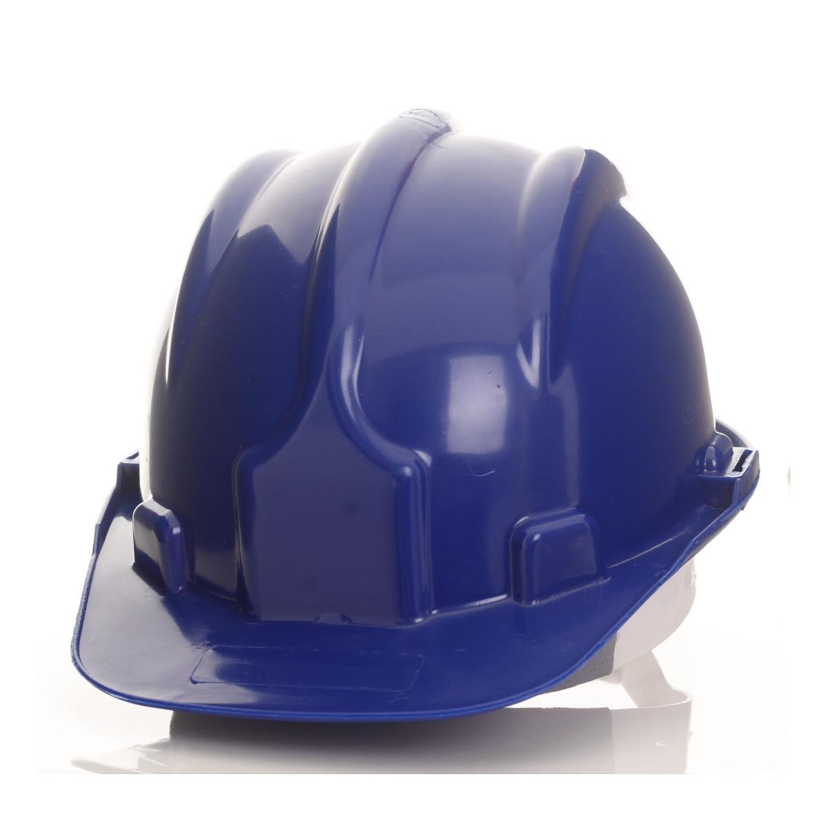 85d8d855c904b Capacete De Segurança Aba Frontal Delta Plus Azul - R  12,00 em ...