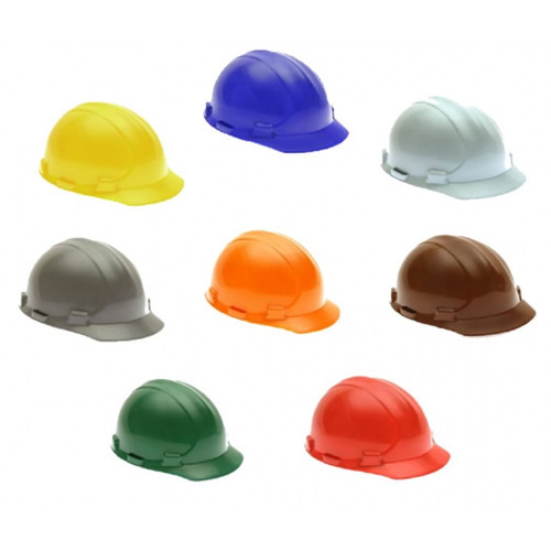 capacete de segurança c/ aba - ledan 800 c/ ca - bege