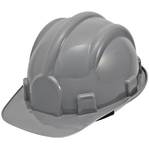 capacete de segurança cinza prosafety