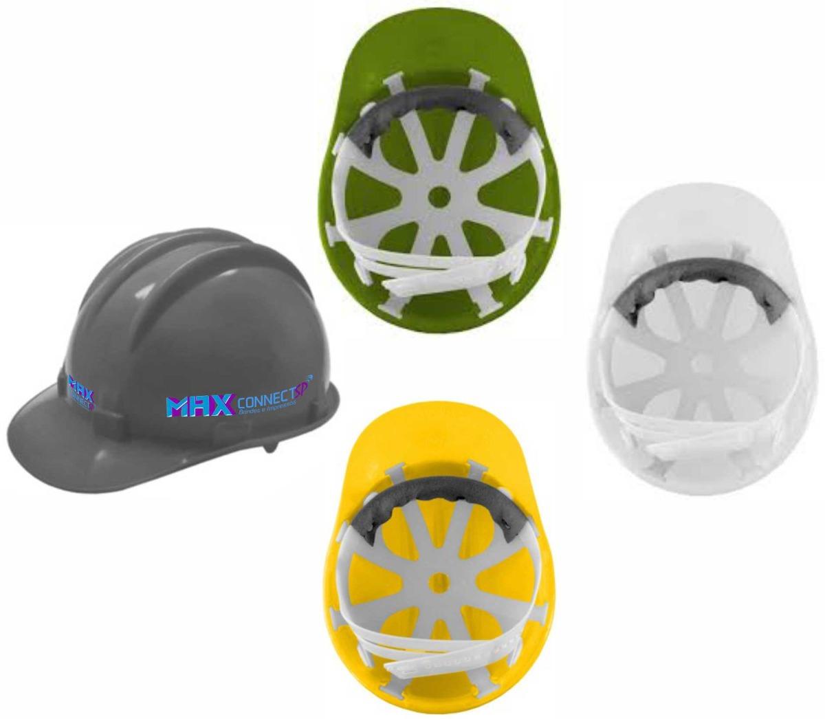337150949a387 capacete de segurança epi + carneira c  ca + personalização. Carregando  zoom.