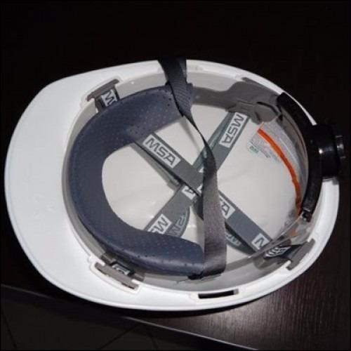 56c8e9632034e Capacete De Segurança Epi V-gard Msa Jugular E Catraca - R  59