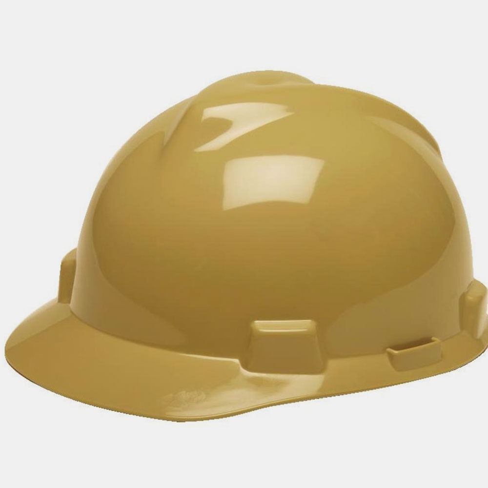 608a9a4208f64 capacete de segurança v-gard msa aba frontal   cor  bege. Carregando zoom.