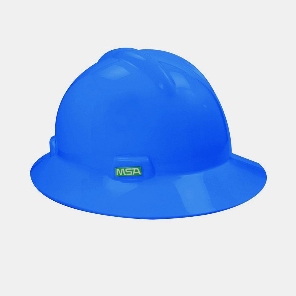 9dc1f093de73b capacete de segurança v-gard msa aba total com carneira e ju. Carregando  zoom.