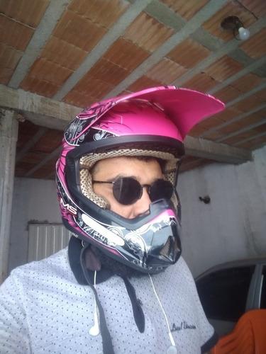 capacete de trilha tam.56