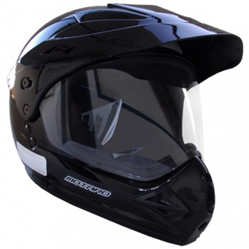 capacete ebf motard c/ viseira cross trilha selo inmetro