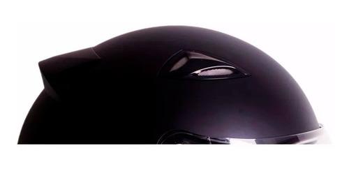capacete ebf viseira acrilico fechado black cores e tamanhos