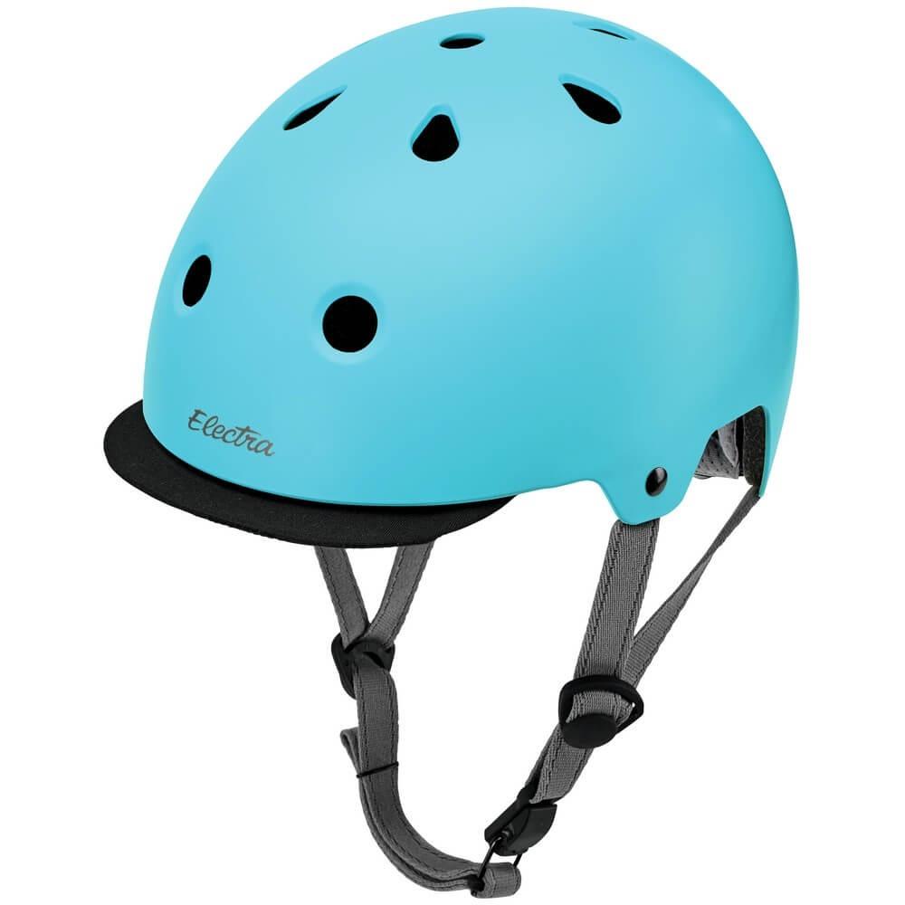 33b9311a9 capacete electra solid coquinho bike urbana azul tam m. Carregando zoom.