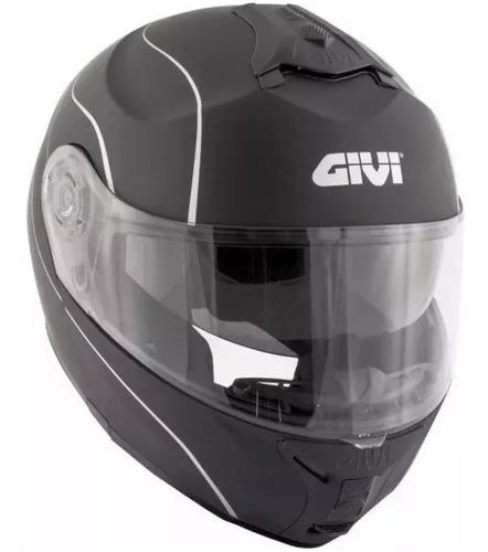 capacete escamoteável givi robocop graphic x21