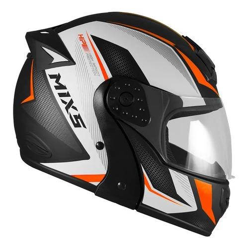 capacete escamoteável mixs gladiator neo lançamento 2019 robocop articulado