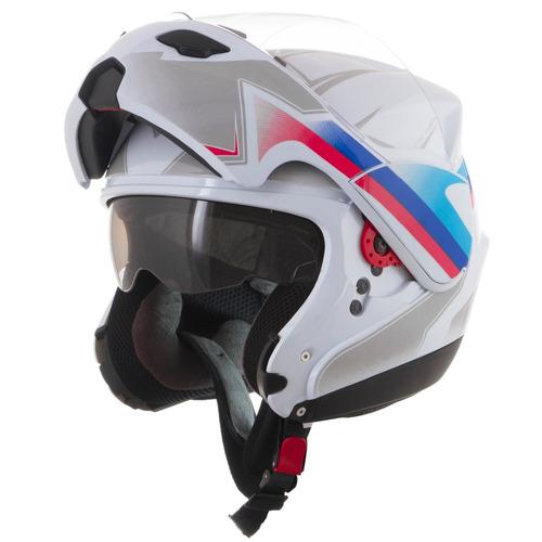 capacete escamoteável pro tork attack abs alto impacto