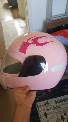capacete feminino 56