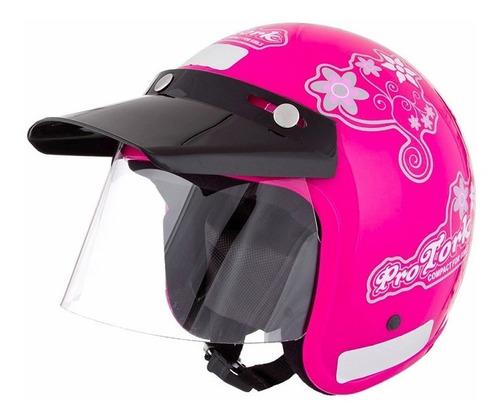 capacete feminino aberto pro tork liberty compact for girls
