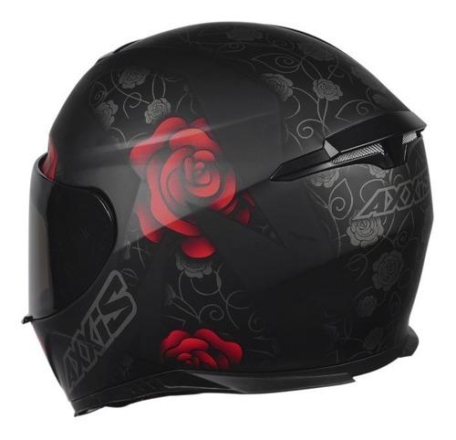 capacete feminino axxis mt eagle flowers