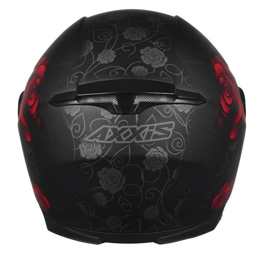 capacete feminino axxis mt eagle flowers