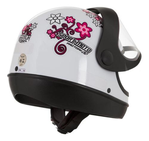 capacete feminino sport moto for girls pro tork