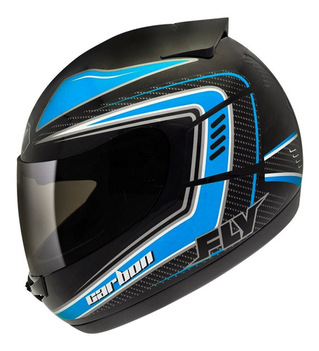 capacete fly drive hg carbon