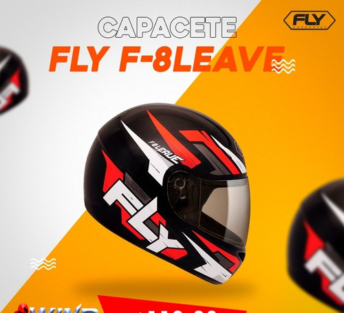 capacete fly f8 leave