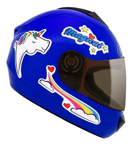 capacete fly fun magical infantil feminino