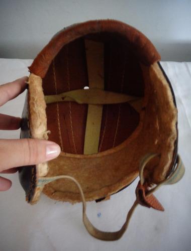 capacete futebol americano infantil antigo antigo