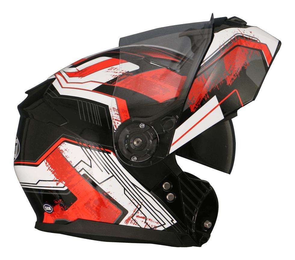 capacete helt escamoteável hippo glass freedom viseira solar. Carregando  zoom. 93c93cdab18