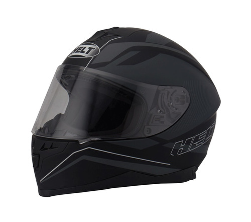 capacete helt new race preto fosco promocional