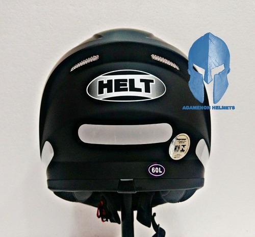 capacete helt polar com duas viseiras