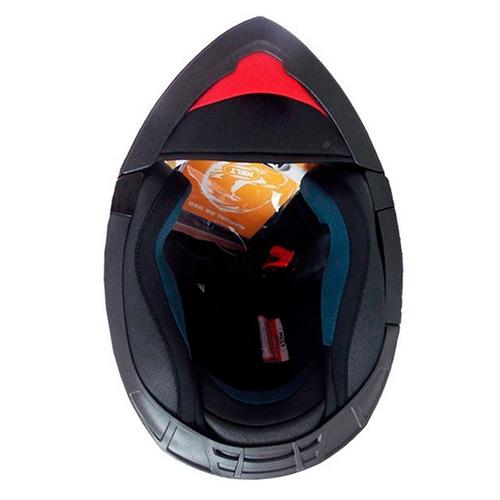 capacete hippo glass spirit n 60 preto fosco