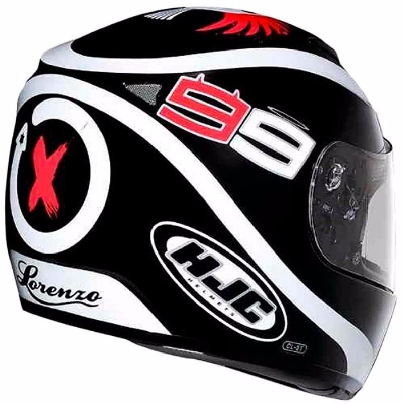 capacete hjc cl-st spartan réplica jorge lorenzo tam56. Carregando zoom. bc2ef736355