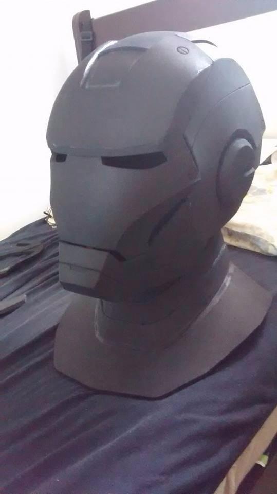 Capacete Homem De Ferro Cosplay Iron Man R 205 00 Em Mercado Livre