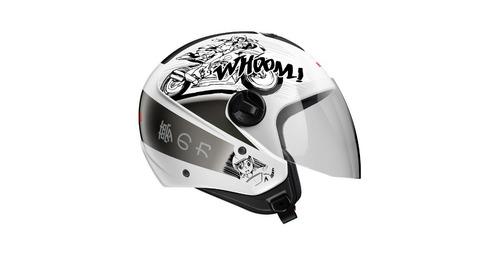 capacete honda original hnj 60 mangá série japão