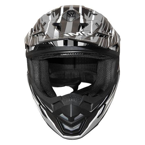 capacete ims action pro cinza abs com trava profissional 56