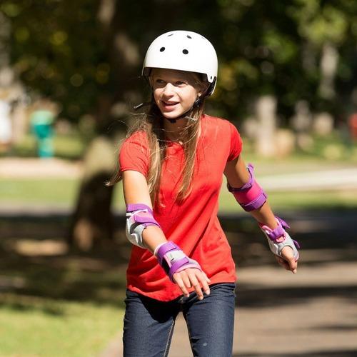 capacete infantil com ajuste skate patins patinete bicicleta