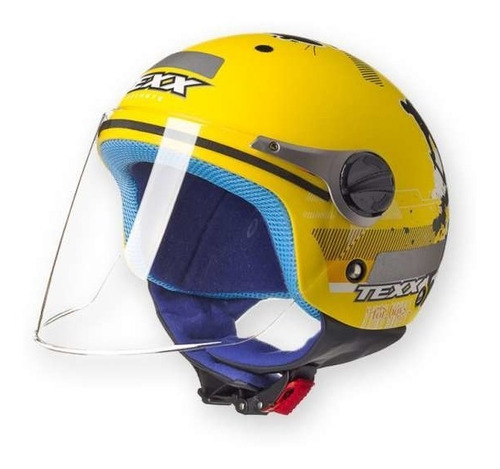 capacete infantil moto aberto texx skateboy masculino