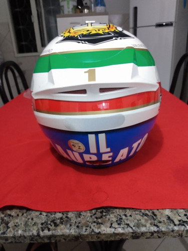 capacete k3 valentino em ótimo estado 57/58