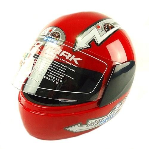 capacete libe-4 fech 54 vermelho infant tk