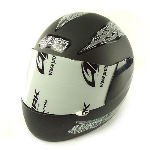 capacete libe-4 fech 60 fosco tk