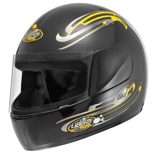 capacete liberty four for kids infantil pro tork + brinde