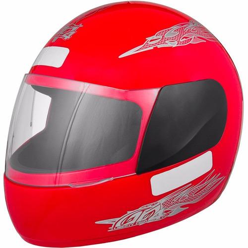 capacete liberty four vermelho