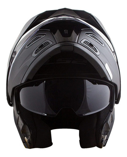 capacete ls2 articulado metro ff324 evo viseira solar