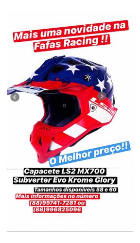 capacete ls2 cross