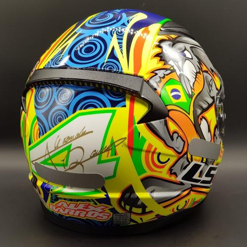 capacete ls2 ff353 rapid alex barros