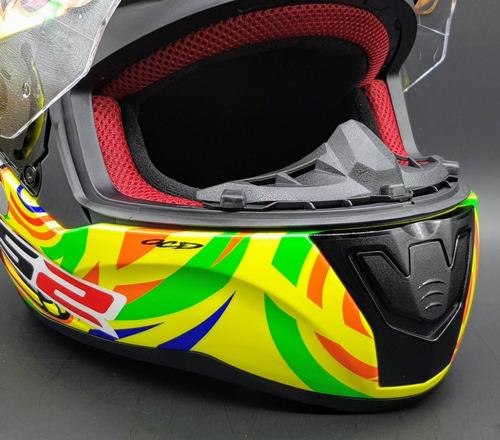capacete ls2 ff353 rapid alex barros superior ao ff358